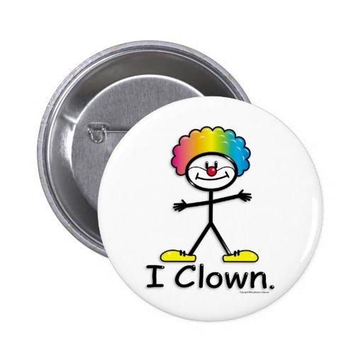 Clowning Pins