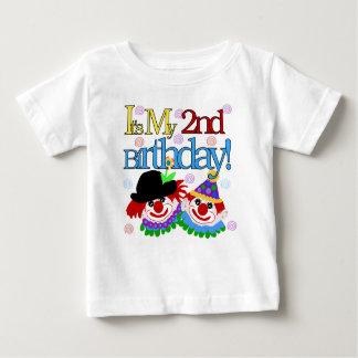 Clowns 2nd Birthday Shirt