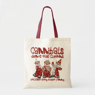 Clowns and Cannibals Tote Bag