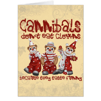 Clowns and Cannibals Card