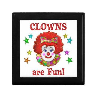 Clowns are Fun Gift Box