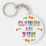 Clowns are Fun Keychains