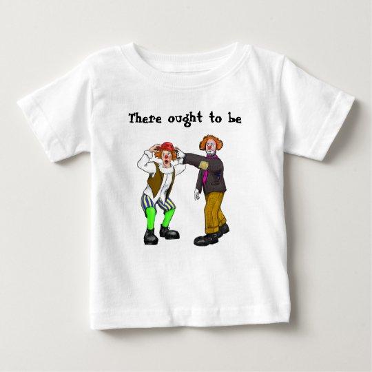 Clowns Baby T-Shirt