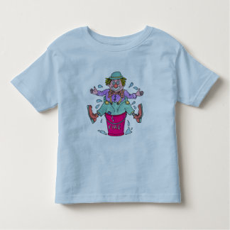 Clowns Capers Toddlers Ringer Tee Shirt