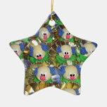 Clowns Christmas Tree Ornaments