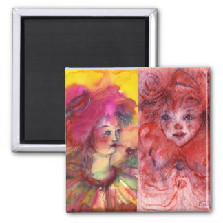 CLOWNS COLLECTION / Venetian Masquearde Ball Magnet