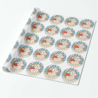 Clowns Grumpy Wrapping Paper
