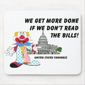 Clowns in Congress Mouse Mat