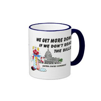Clowns in Congress Ringer Mug