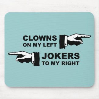 Clowns & Jokers Mouse Pad