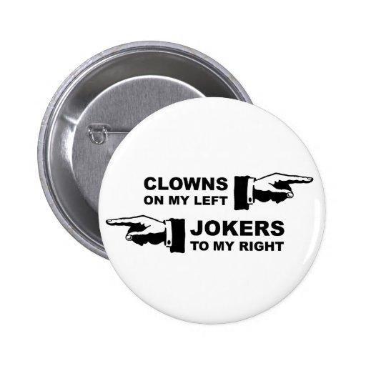 Clowns & Jokers Pin