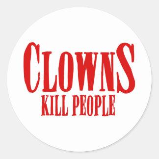 CLOWNS KILL PEOPLE STICKERS