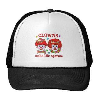 Clowns Make Life Sparkle Mesh Hats