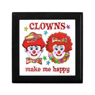 Clowns Make Me Happy Jewelry Box
