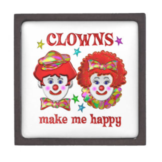 Clowns Make Me Happy Premium Gift Box