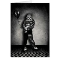 Clowns Play Card