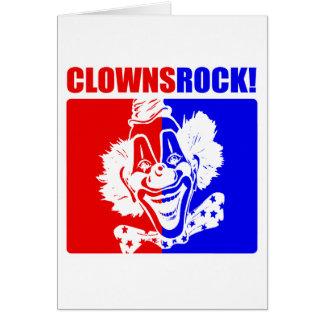 Clowns Rock! #2 Card