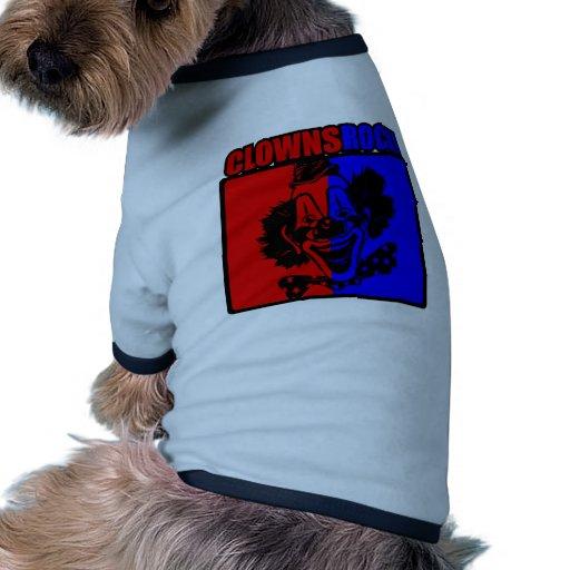 Clowns Rock! Doggie Tshirt