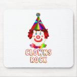 Clowns Rock Mouse Pads