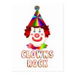 Clowns Rock Postcards