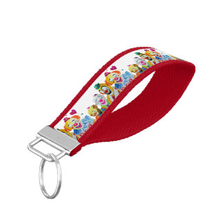 Clowns Wristband Keychain