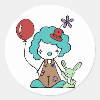 Clowny Sticker
