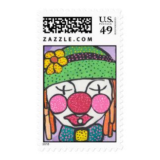 Clownzy Postage
