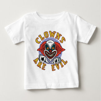 Clows are Evil Infant Shirt