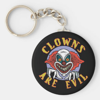 Clows are Evil Keychain