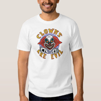 Clows are Evil T-shirt