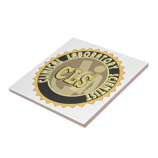 CLS BADGE - CLINICAL LABORATORY SCIENTIST TILE