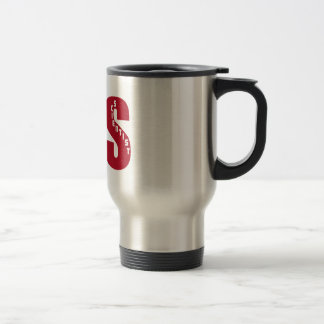 CLS (Big RED) CLINICAL LABORATORY SCIENTIST 15 Oz Stainless Steel Travel Mug