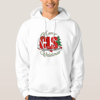 CLS CHRISTMAS  Clinical Laboratory Scientist Hoodie