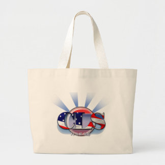 CLS in the USA CLINICAL LABORATORY SCIENTIST Large Tote Bag