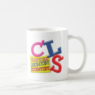 CLS WHIMSICAL  CLINICAL LABORATORY SCIENTIST CLASSIC WHITE COFFEE MUG