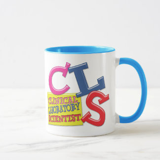 CLS WHIMSICAL  CLINICAL LABORATORY SCIENTIST MUG