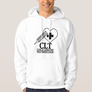 CLT HEART SYRINGE CLINICAL LAB TECH PULLOVER
