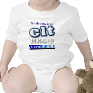 CLT LOGO - CLINICAL LABORATORY  TECHNICIAN T SHIRTS