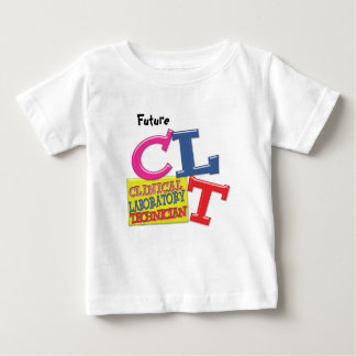 CLT WHIMSICAL LETTERS CLINICAL LABORATORY TECH SHIRT