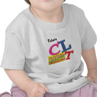 CLT WHIMSICAL LETTERS CLINICAL LABORATORY TECH TSHIRTS