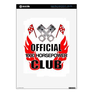 Club 1000 de HP del funcionario iPad 3 Pegatinas Skins