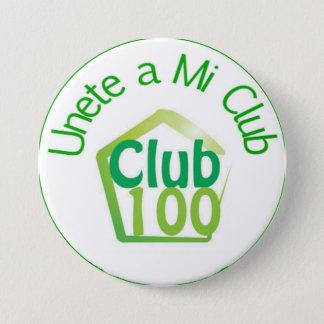 Club 100 Button