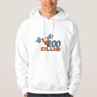 Club 200 jersey con capucha