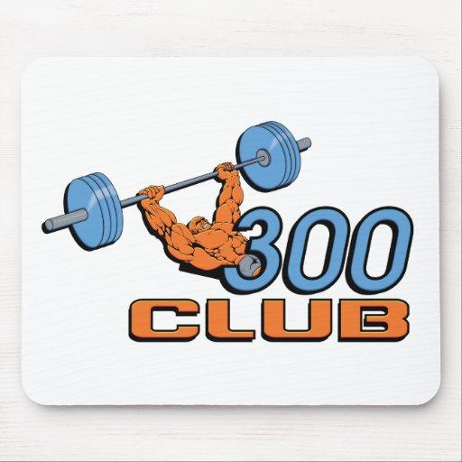 Club 300 tapetes de ratón