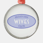 Club a estrenar de las esposas (púrpura) adorno