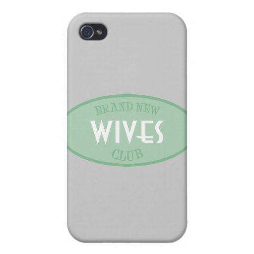 Club a estrenar de las esposas (verde) iPhone 4 fundas