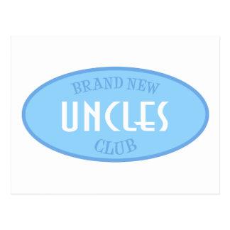 Club a estrenar de los tíos (azul) postal