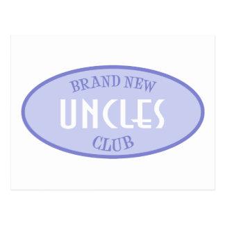 Club a estrenar de los tíos (púrpura) postal