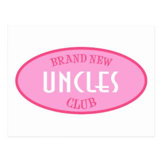 Club a estrenar de los tíos (rosa) postal