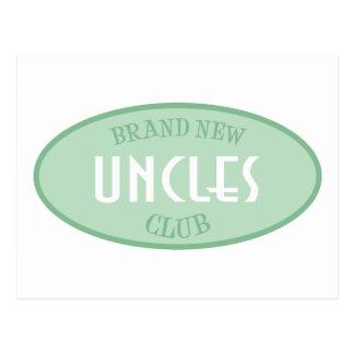 Club a estrenar de los tíos (verde) postal